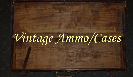 vintage ammo cases